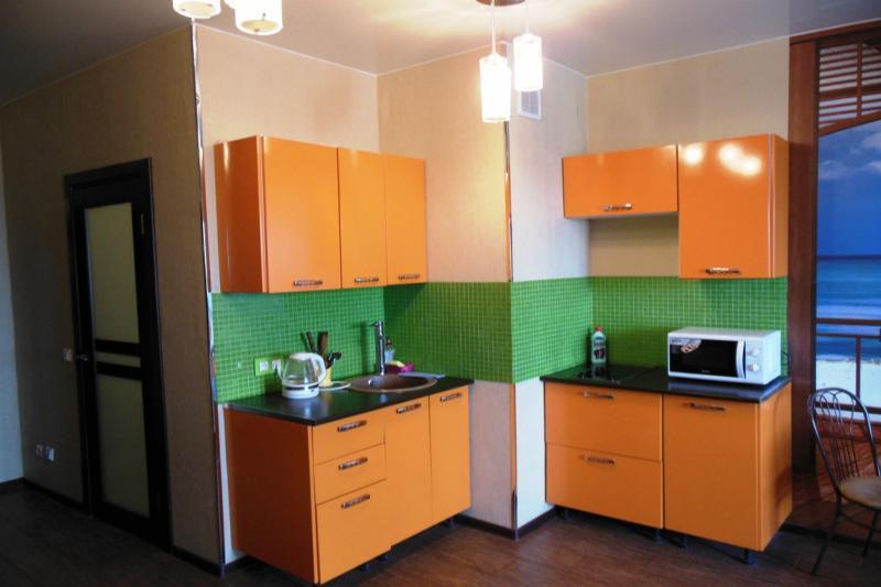 1-комнатная квартира посуточно (вариант № 389), ул. Ленинская улица, фото № 4