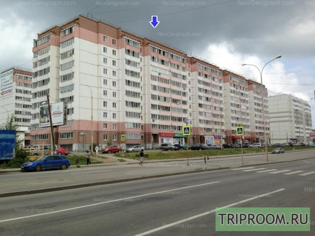 1-комнатная квартира посуточно (вариант № 40144), ул. Бакинских комиссаров улица, фото № 7