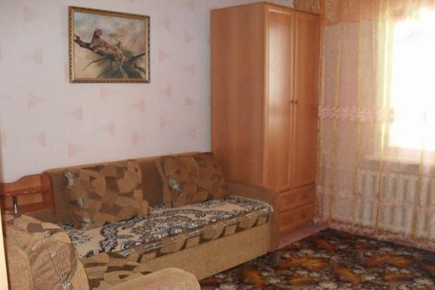 1-комнатная квартира посуточно (вариант № 502), ул. Каниболотского улица, фото № 2