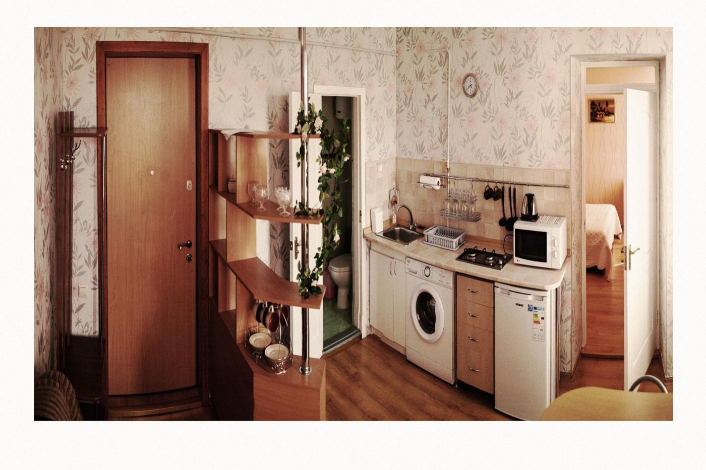 2-комнатная квартира посуточно (вариант № 1536), ул. Воронина улица, фото № 2
