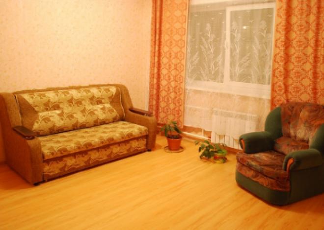 1-комнатная квартира посуточно (вариант № 116), ул. Байкальская улица, фото № 3