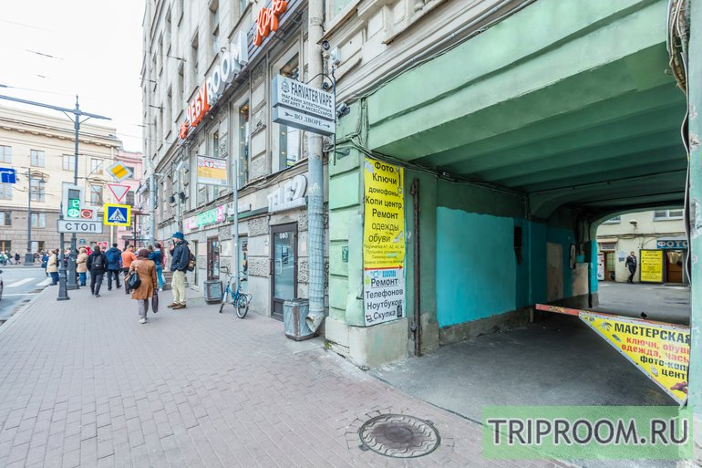 1-комнатная квартира посуточно (вариант № 36384), ул. 1-я Красноармейская улица, фото № 41