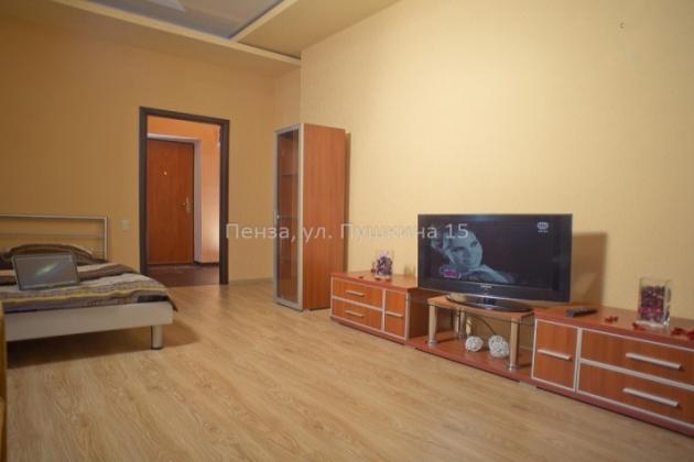 1-комнатная квартира посуточно (вариант № 3501), ул. Пушкина улица, фото № 5