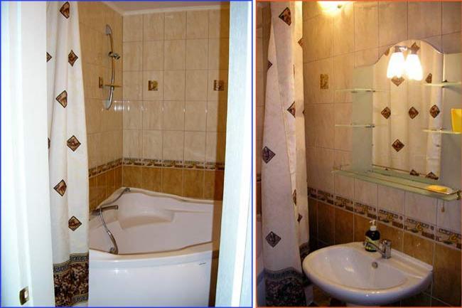 3-комнатная квартира посуточно (вариант № 1546), ул. Героев Сталинграда проспект, фото № 12