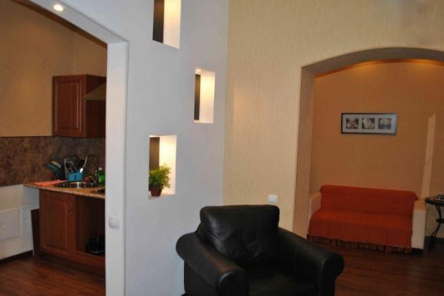 2-комнатная квартира посуточно (вариант № 3315), ул. Ленина проспект, фото № 3