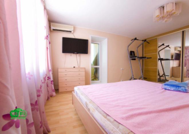 3-комнатная квартира посуточно (вариант № 202), ул. Уссурийский бульвар, фото № 7