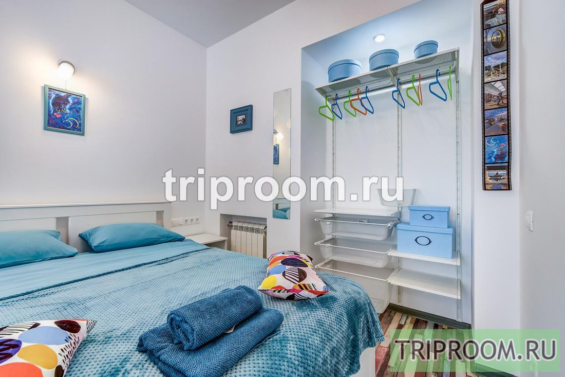 1-комнатная квартира посуточно (вариант № 54711), ул. Реки Фонтанки набережная, фото № 2