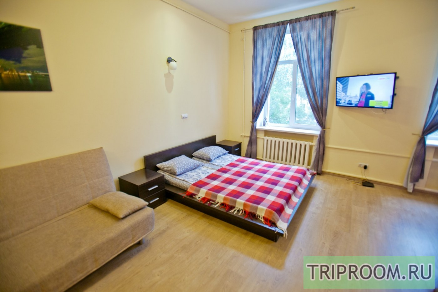 1-комнатная квартира посуточно (вариант № 8396), ул. Краснинская 2-я улица, фото № 11