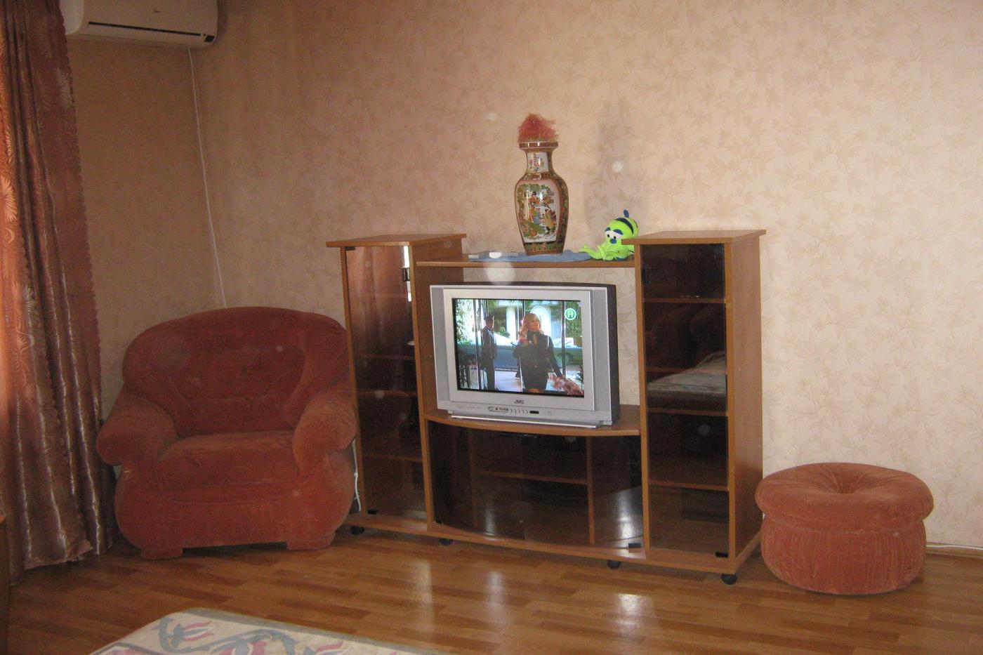 1-комнатная квартира посуточно (вариант № 1278), ул. Октябрьской Революции проспект, фото № 7