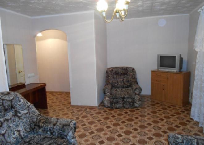 1-комнатная квартира посуточно (вариант № 185), ул. Мира улица, фото № 2