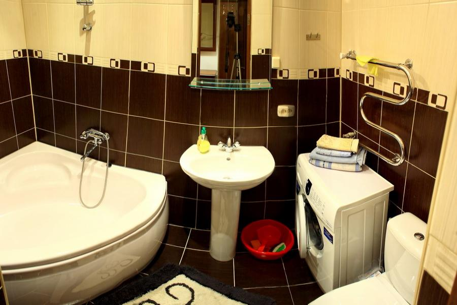 1-комнатная квартира посуточно (вариант № 610), ул. Советская улица, фото № 5