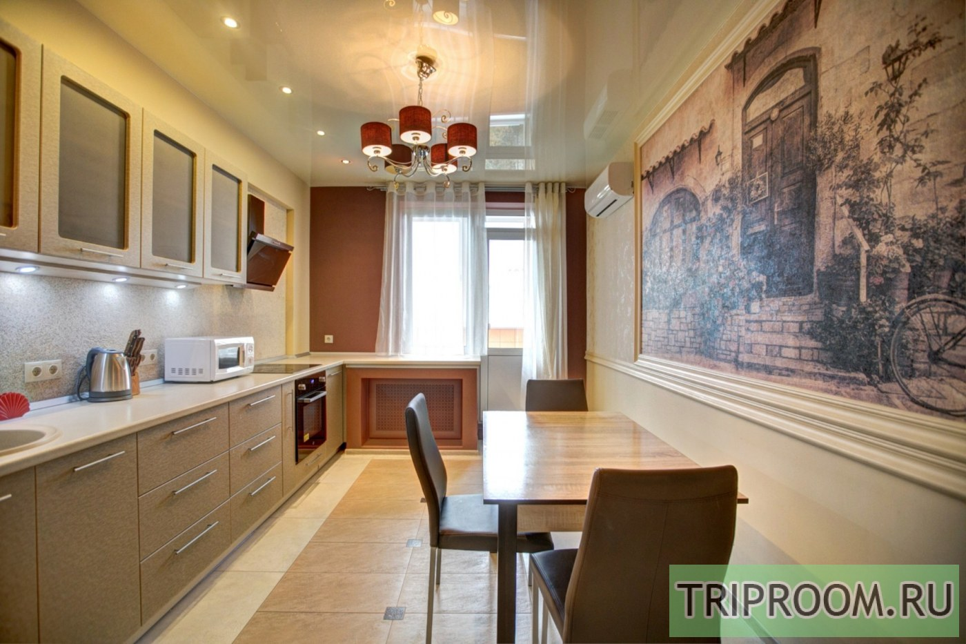 1-комнатная квартира посуточно (вариант № 38810), ул. Революции проспект, фото № 4