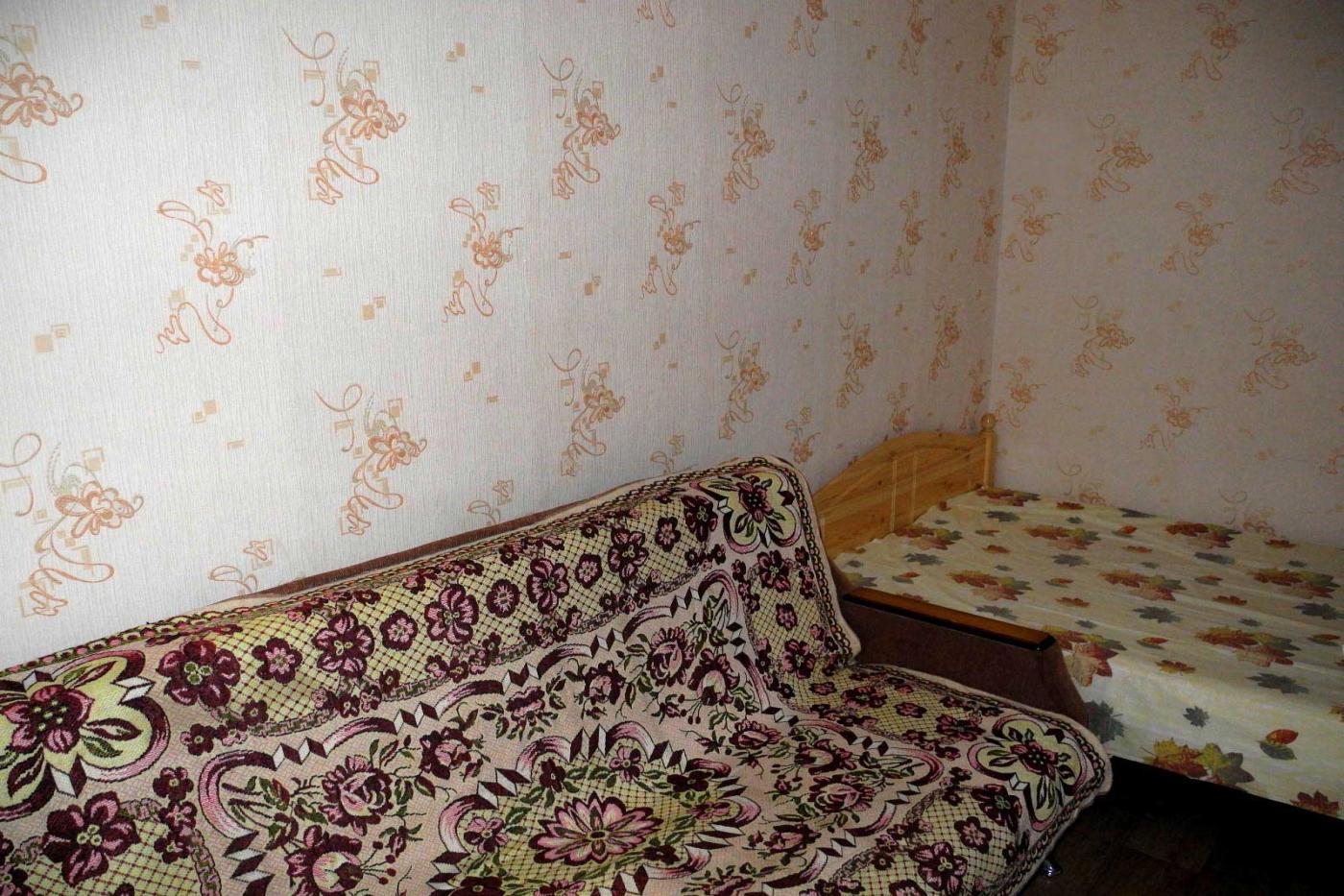 1-комнатная квартира посуточно (вариант № 3858), ул. Кольцовская улица, фото № 12