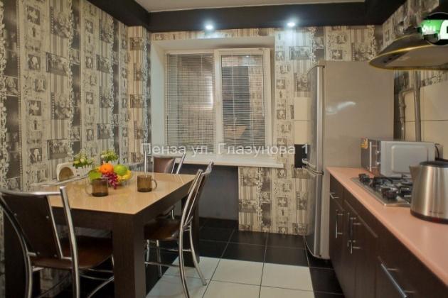 1-комнатная квартира посуточно (вариант № 3509), ул. Глазунова улица, фото № 4