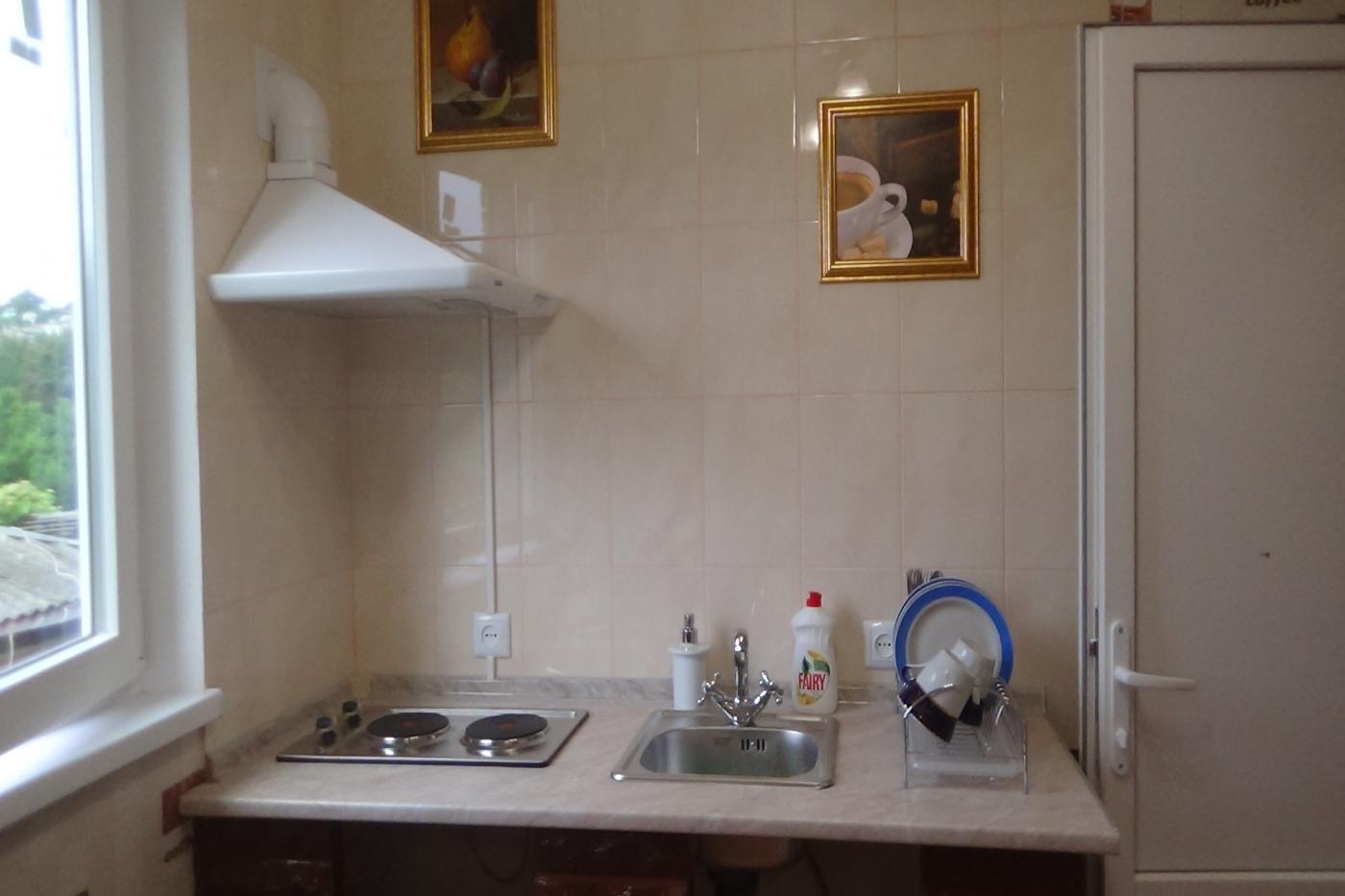 1-комнатная квартира посуточно (вариант № 1801), ул. Охотская улица, фото № 6