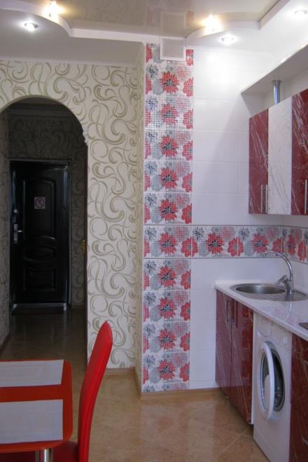 1-комнатная квартира посуточно (вариант № 1547), ул. Пожарова улица, фото № 9