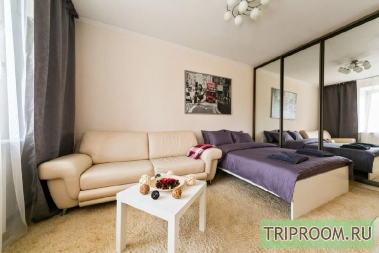 1-комнатная квартира посуточно (вариант № 45347), ул. Карташова улица, фото № 1