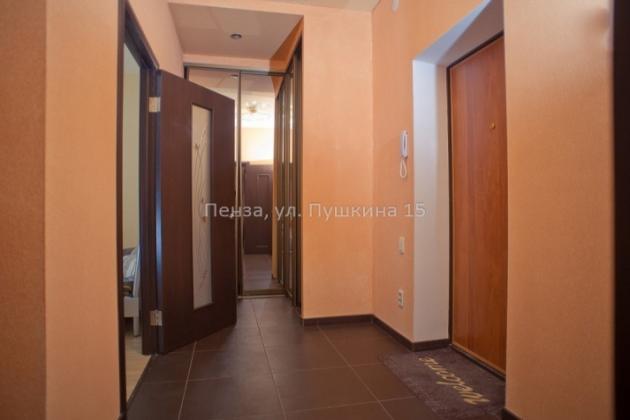 1-комнатная квартира посуточно (вариант № 3501), ул. Пушкина улица, фото № 2