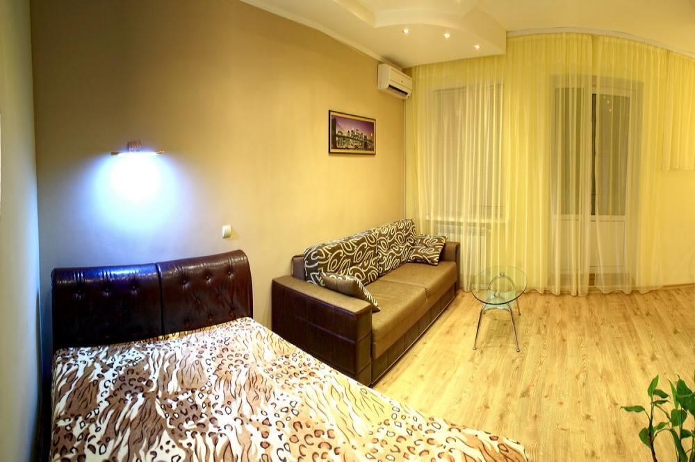 1-комнатная квартира посуточно (вариант № 610), ул. Советская улица, фото № 1