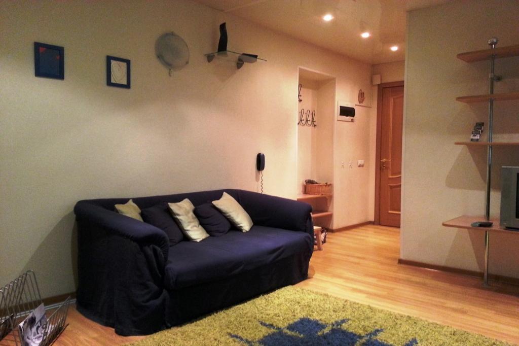 1-комнатная квартира посуточно (вариант № 3240), ул. Плехановская улица, фото № 4