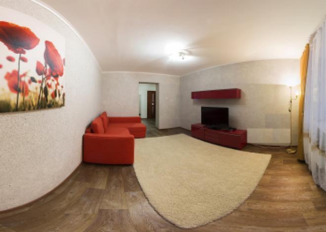 3-комнатная квартира посуточно (вариант № 80), ул. Ломоносова улица, фото № 7