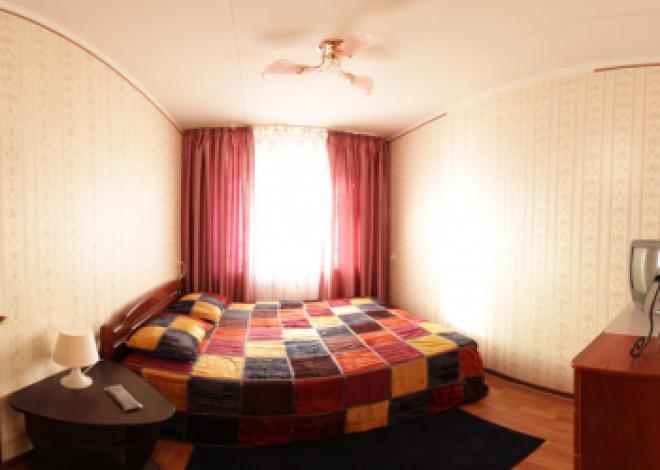 2-комнатная квартира посуточно (вариант № 69), ул. С. Садыковой улица, фото № 5