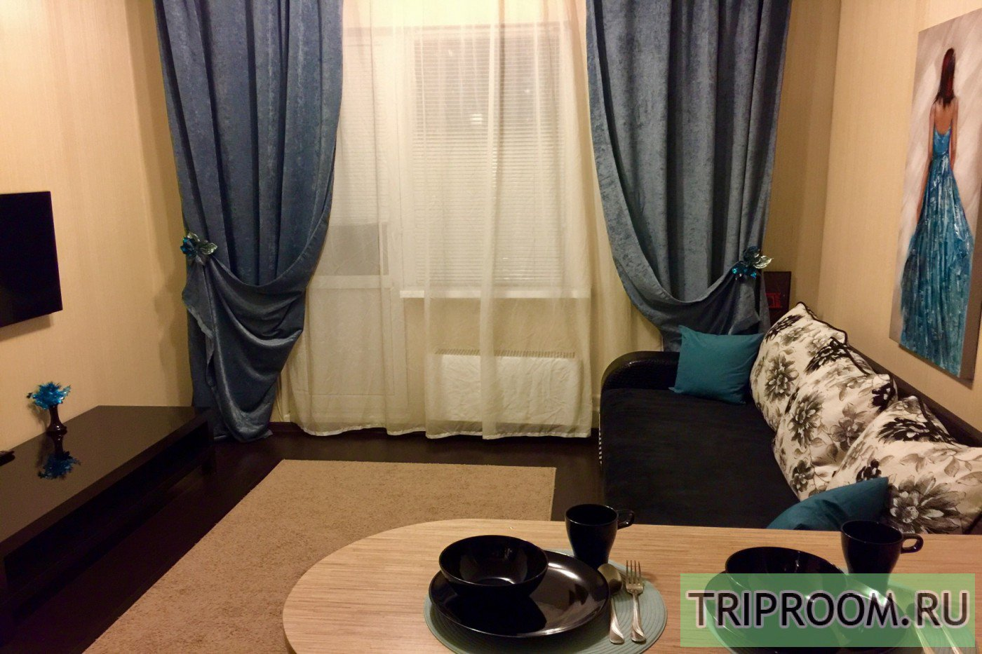 1-комнатная квартира посуточно (вариант № 36696), ул. Университетская улица, фото № 4