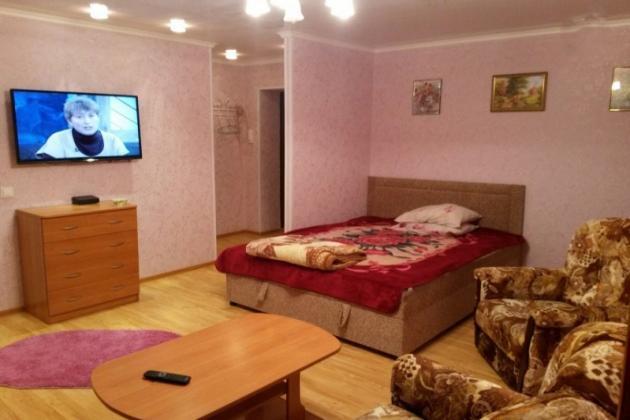 2-комнатная квартира посуточно (вариант № 3311), ул. Октябрьская улица, фото № 3