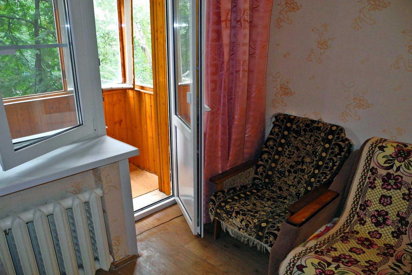 1-комнатная квартира посуточно (вариант № 3858), ул. Кольцовская улица, фото № 10