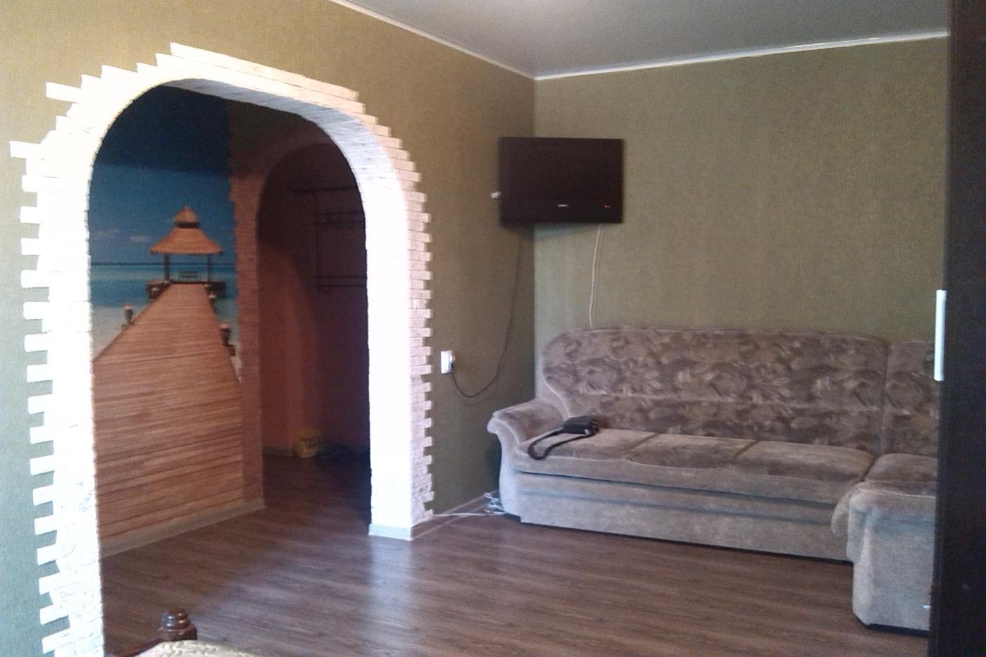 1-комнатная квартира посуточно (вариант № 1925), ул. Никитинская улица, фото № 2