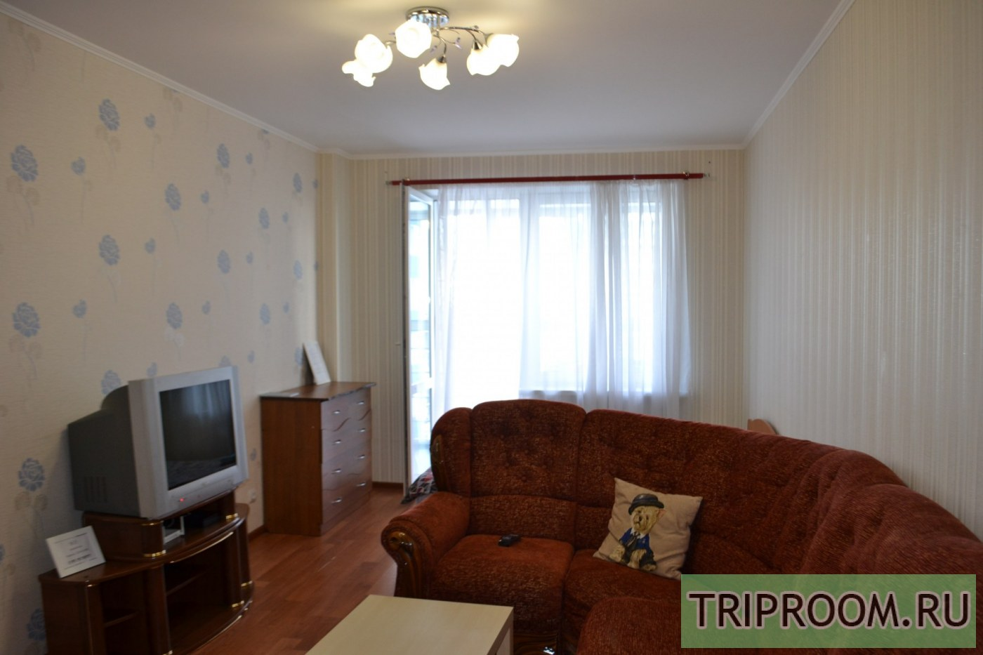 1-комнатная квартира посуточно (вариант № 39023), ул. Беляева улица, фото № 5