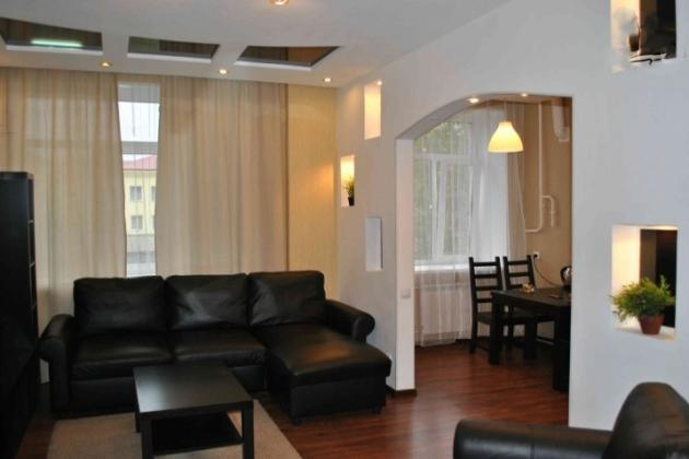 2-комнатная квартира посуточно (вариант № 3315), ул. Ленина проспект, фото № 1