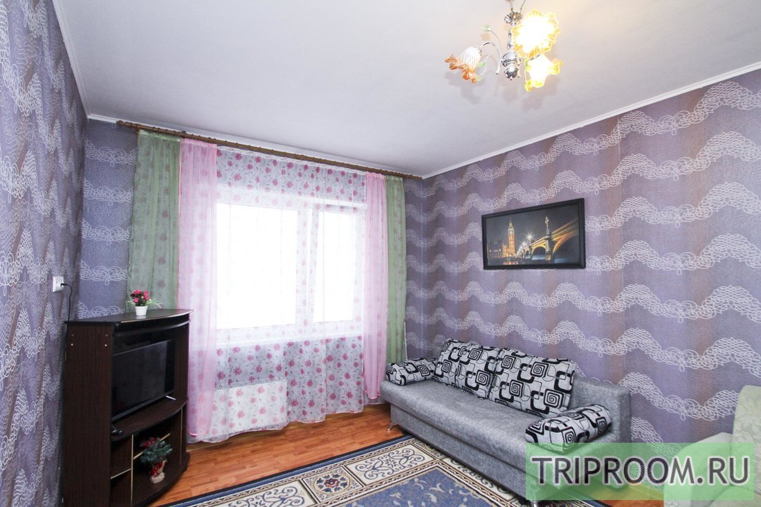 1-комнатная квартира посуточно (вариант № 64422), ул. тюменский тракт, фото № 1