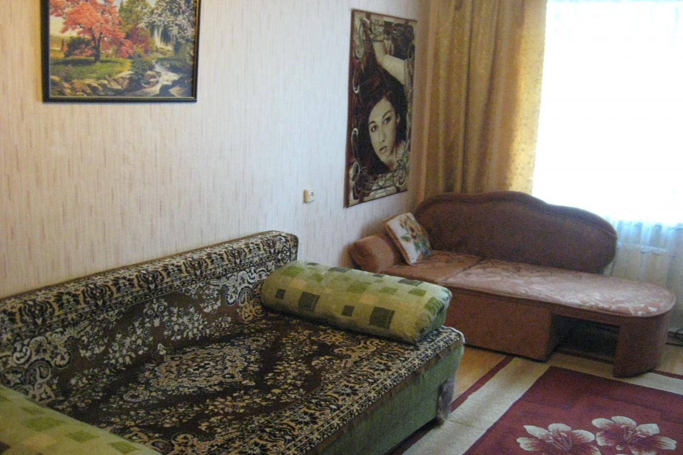 1-комнатная квартира посуточно (вариант № 2676), ул. Ворошилова улица, фото № 2