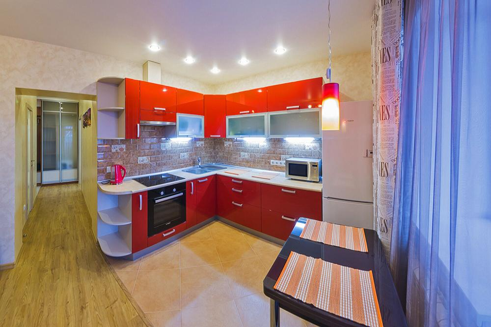 2-комнатная квартира посуточно (вариант № 4405), ул. Геодезическая улица, фото № 5
