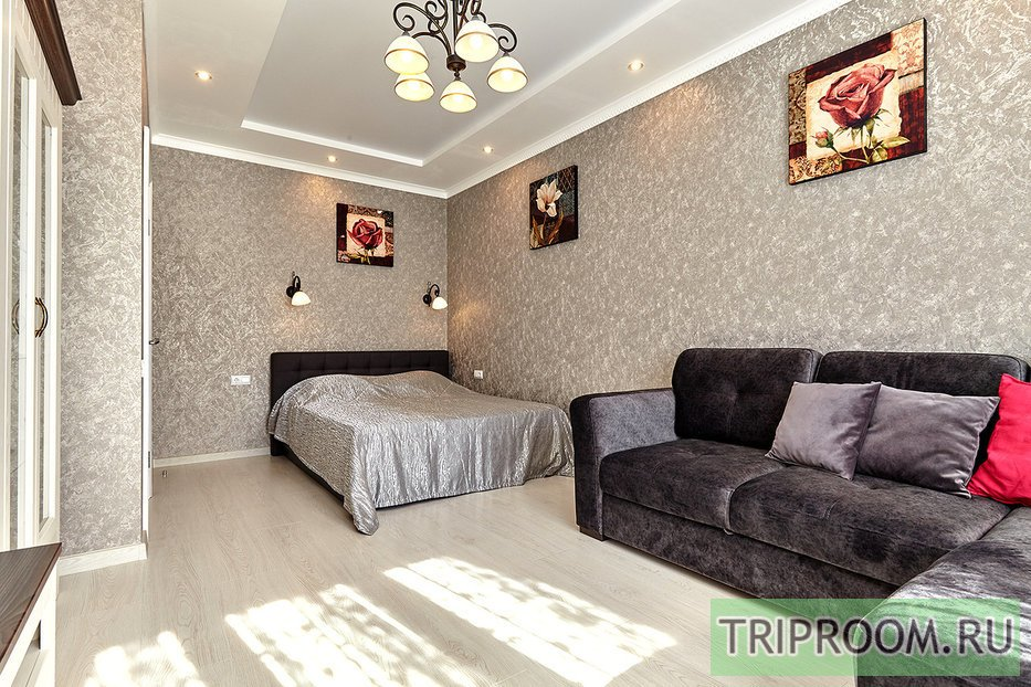 1-комнатная квартира посуточно (вариант № 55743), ул. Кореновская улица, фото № 4