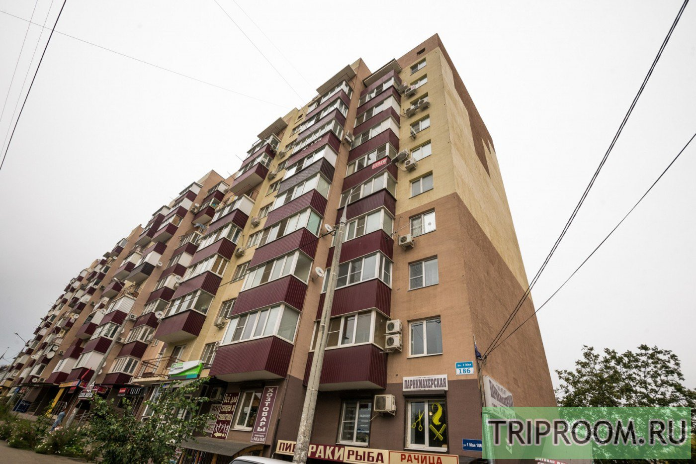 1-комнатная квартира посуточно (вариант № 36596), ул. 1-го Мая улица, фото № 4