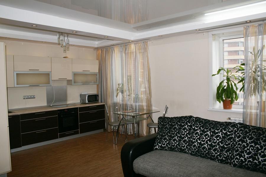 1-комнатная квартира посуточно (вариант № 3905), ул. Дуси Ковальчук улица, фото № 2