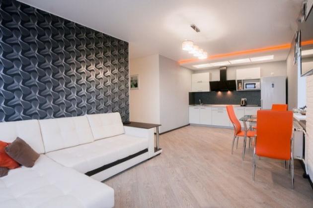 2-комнатная квартира посуточно (вариант № 3698), ул. Рахова улица, фото № 7
