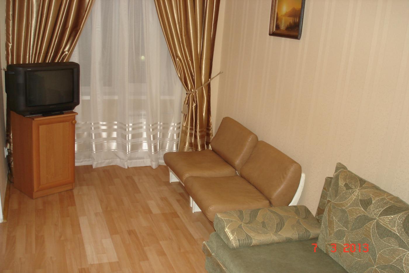 2-комнатная квартира посуточно (вариант № 1714), ул. Гоголя улица, фото № 4