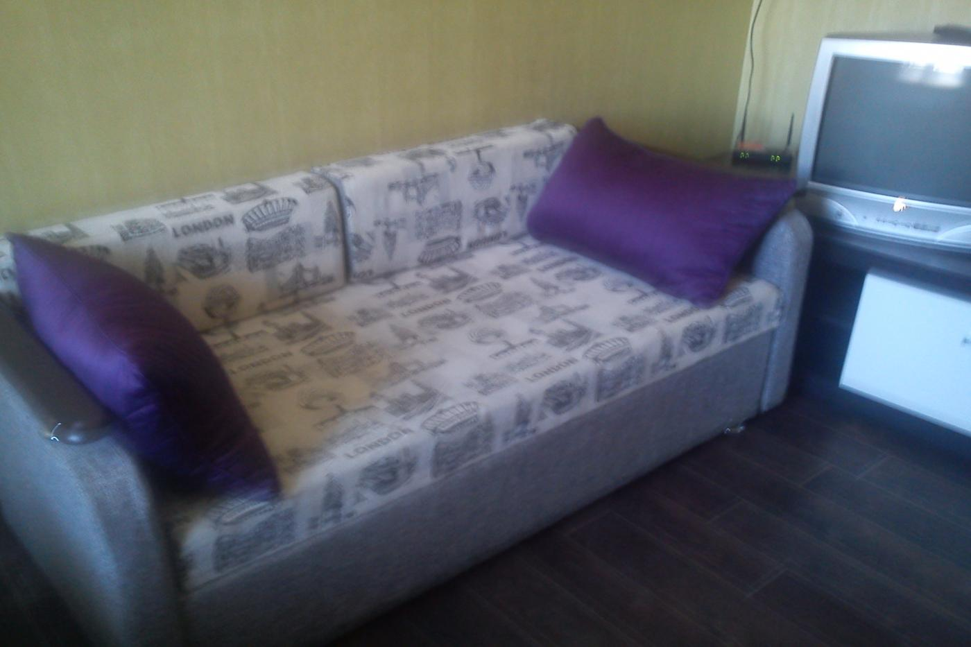 1-комнатная квартира посуточно (вариант № 2448), ул. Революции проспект, фото № 6