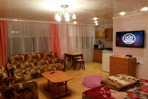 2-комнатная квартира посуточно (вариант № 3311), ул. Октябрьская улица, фото № 4