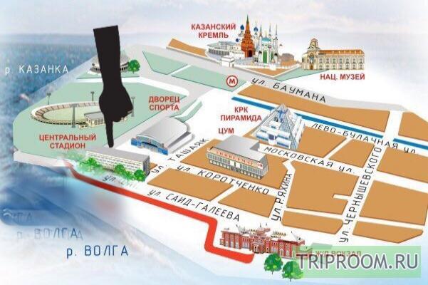 1-комнатная квартира посуточно (вариант № 2841), ул. Коротченко улица, фото № 5