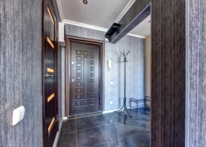 1-комнатная квартира посуточно (вариант № 208), ул. Российская улица, фото № 8