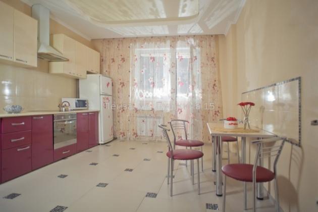 1-комнатная квартира посуточно (вариант № 3501), ул. Пушкина улица, фото № 4