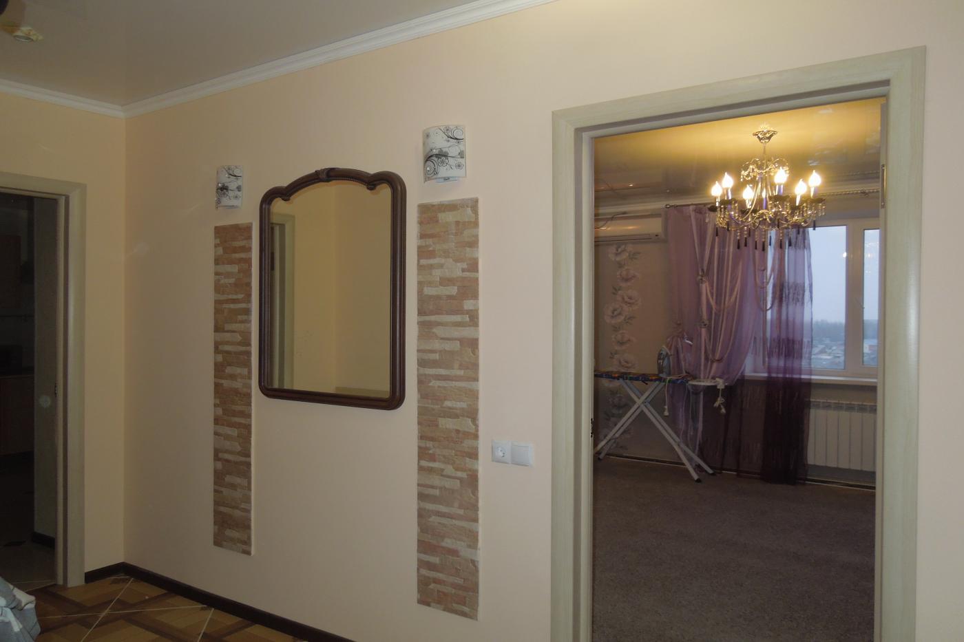 1-комнатная квартира посуточно (вариант № 1932), ул. Челюскинцев улица, фото № 2