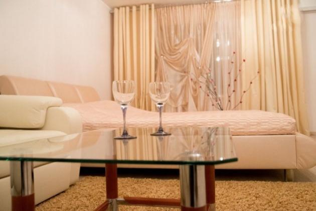 1-комнатная квартира посуточно (вариант № 3702), ул. Советская улица, фото № 3