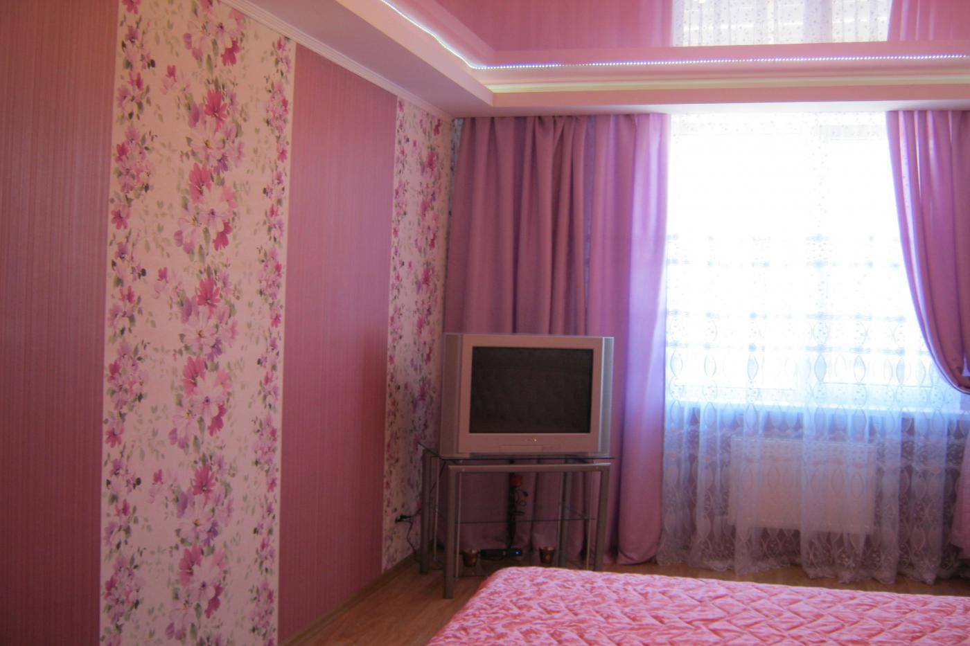 1-комнатная квартира посуточно (вариант № 1547), ул. Пожарова улица, фото № 2
