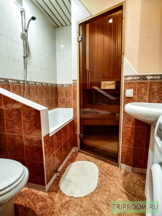 2-комнатная квартира посуточно (вариант № 60531), ул. Комсомольский проспект, фото № 14