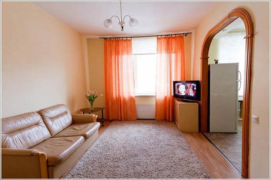 2-комнатная квартира посуточно (вариант № 2733), ул. Большой проспект, фото № 4